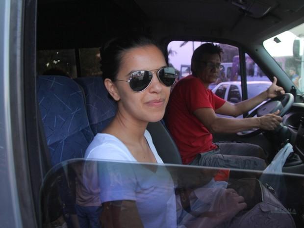 Mariana Rios em Belém, no Pará (Foto: Wesley Costa/ Ag. News)