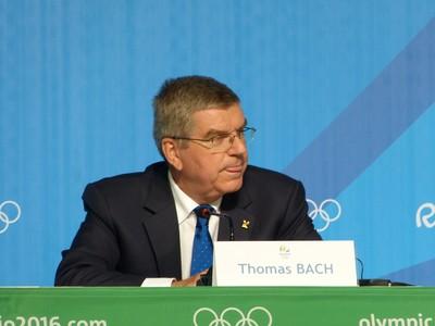 Thomas Bach, presidente do Comitê Olímpico Internacional (Foto: Vicente Seda)