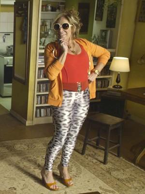 Susana Vieira em 'Sorria, você está sendo filmado' (Foto: Divulgação)