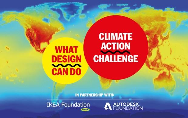 Concurso busca projetos criativos para combater mudanças climáticas (Foto: Divulgação/What Design Can Do)