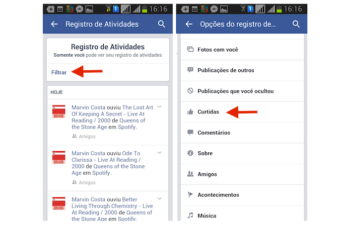 Como Descurtir Postagens No Facebook Pelo Celular Dicas E