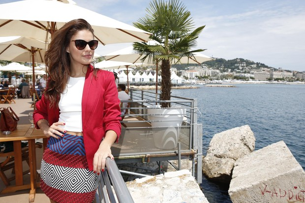 Paloma Bernardi em Cannes (Foto: Felipe Panfili / AgNews)