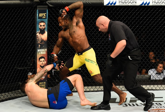 Khalil Rountree Paul Craig UFC Escócia (Foto: Getty Images)