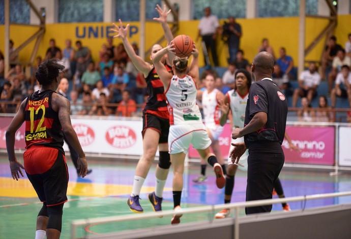 Presidente Venceslau x Sport - Liga de Basquete Feminino (Foto: ABPV / Divulgação)