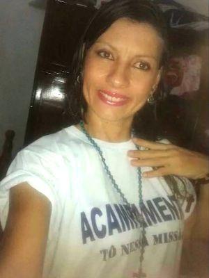 Edilaine Ferreira dos Santos morreu afogada no Rio Sepotuba (Foto: Reprodução/ TVCA)