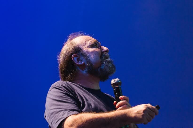 Neurocientista em palestra na Campus Party (Foto: Divulgação)