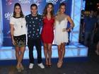 Priscila Fantin, Giovanna Ewbank e Milena Toscano vão a evento