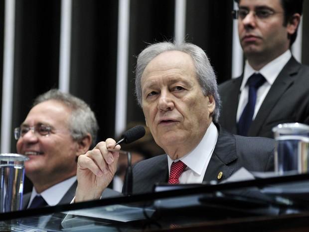 O presidente do STF, ministro Ricardo Lewandowski, abre no Senado a sessão final do julgamento do impeachment de Dilma Rousseff, em Brasília (Foto: Geraldo Magela/Agência Senado)