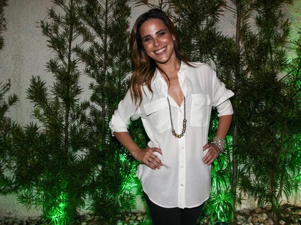 Wanessa em festa em São Paulo (Foto: Manuela Scarpa/ Foto Rio News)