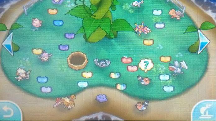 Pokémon Sun e Moon: clique nos Beans espalhados no chão para coletá-los (Foto: Reprodução / Thomas Schulze)