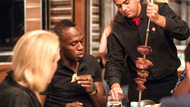 Bolt restaurante Porcão Rio (Foto: Thiago Diz / Mano a Mano )