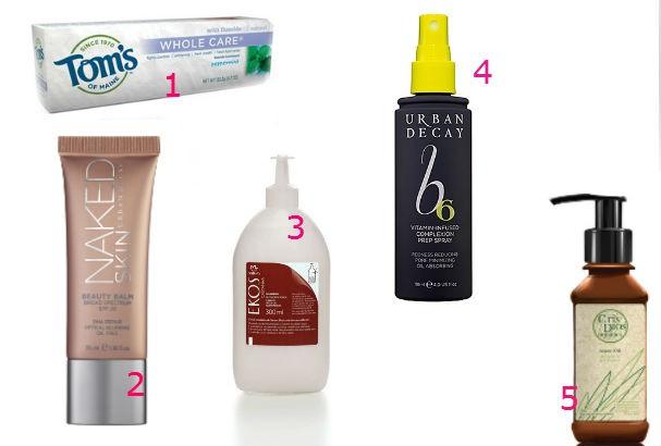 Produtos usados pela top e apresentadora (Foto: divulgação)
