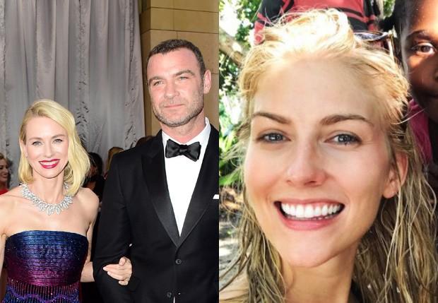 Liev Schreiber foi casado por 11 anos com Naomi Watts e estaria namorando Taylor Neisen (Foto: Getty Images e Reprodução)