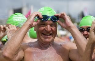 euatleta idoso natação (Foto: Getty Images)