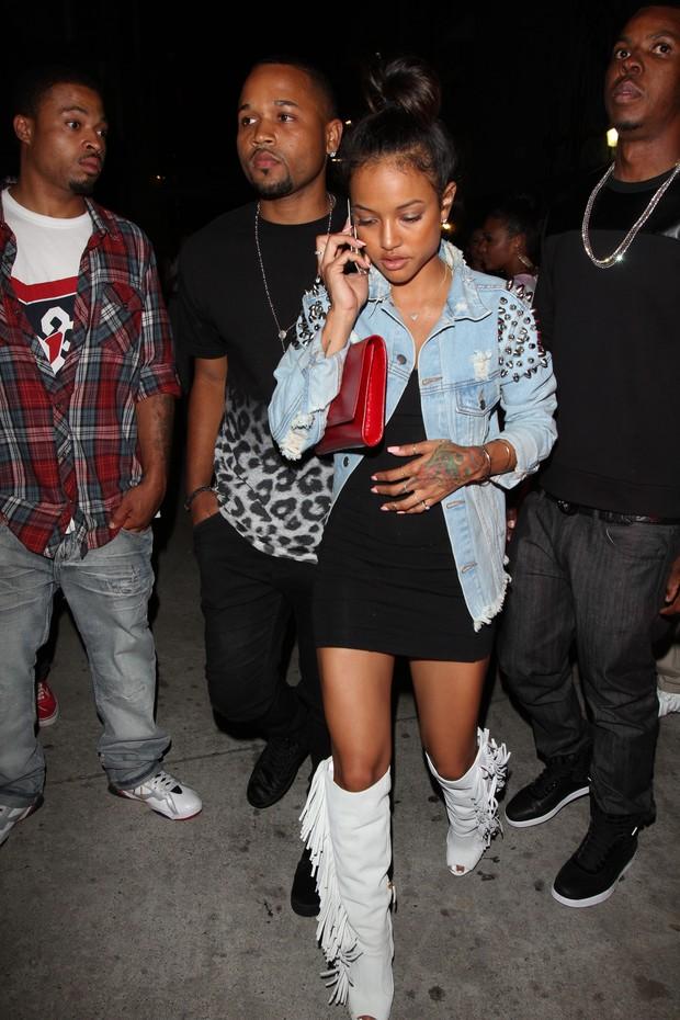 Karrueche Tran, ex-namorada de Chris Brown (Foto:  twist/X17online.com)