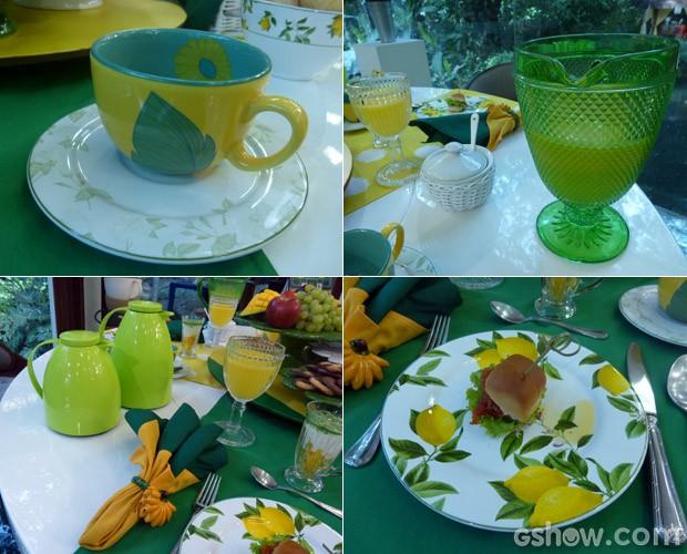 Com ideia simples, sua mesa ficará mais bonita! (Foto: Mais Você / TV Globo)