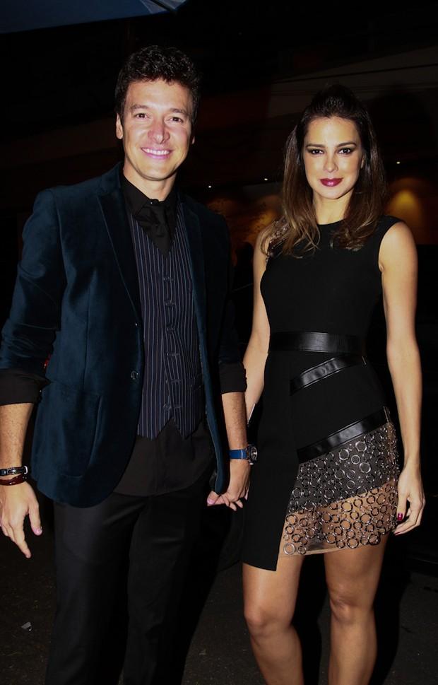 Rodrigo Faro e Vera Viel na festa de Danilo Faro (Foto: Claudio Augusto / Foto Rio News)
