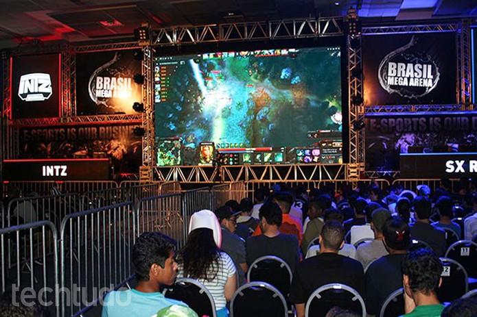 Público se reuniu para conferir torneios de Dota, LoL e mais  (Foto: Felipe Vinha/TechTudo)