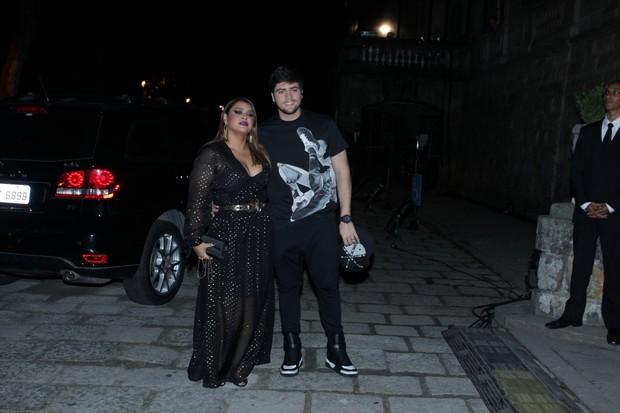 Preta Gil e Rodrigo Godoy (Foto: Marcello Sá Barretto / AgNews)