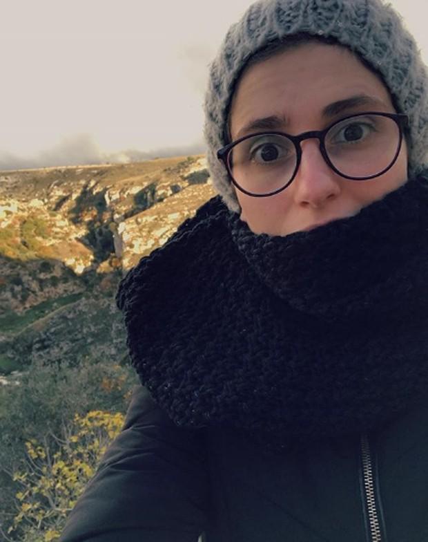 Carol Duarte na Itália (Foto: Reprodução/Instagram)