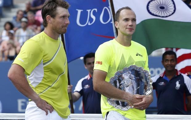 tenis us open trofeu alexander peya bruno soares (Foto: Reuters)