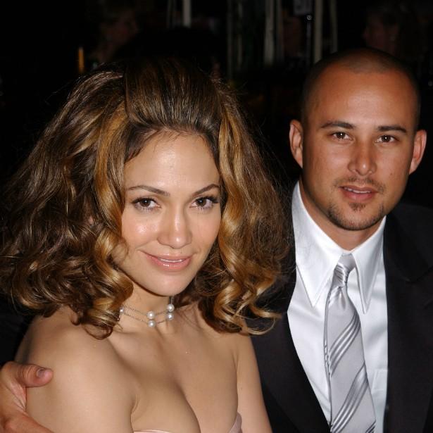 Jennifer Lopez subiu ao altar com o coreógrafo Cris Judd em setembro de 2001. Em junho de 2002, se separaram. A união durou só nove meses. (Foto: Getty Images)