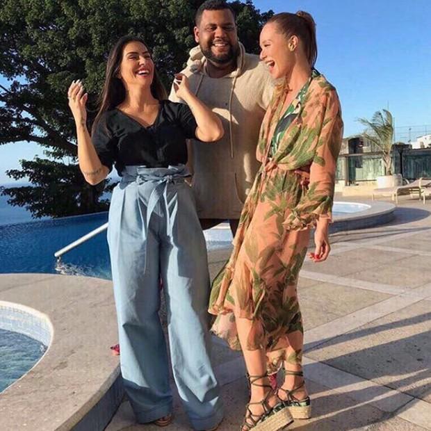 Cleo Pires, John Drops e Mariana Ximenes (Foto: Reprodução/Instagram)