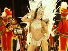 Rainhas de bateria mostram sua majestade no desfile das campeãs