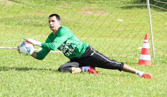 Nivaldo goleiro da Chapecoense (Foto: Aguante Comunicação/Chapecoense)