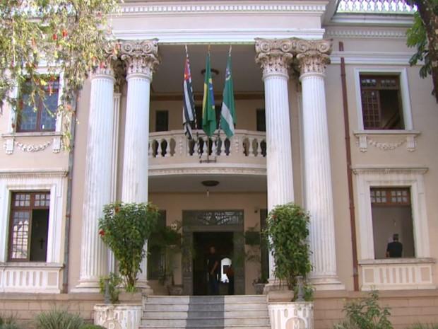 Prefeitura de São João da Boa Vista (Foto: Reprodução/ EPTV)