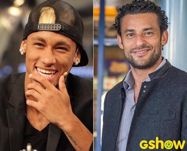 Confira as previsões astrológicas para Neymar e Fred na Copa (Foto: Altas Horas/TV Globo)