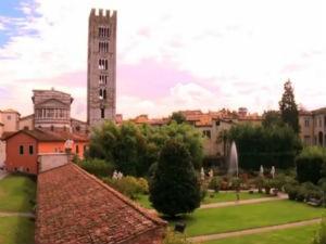 Castelo em Toscana na Itália  (Foto: Reprodução/ TV Gazeta)