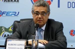 Rubens Lopes presidente da FERJ (Foto: Vicente Seda)