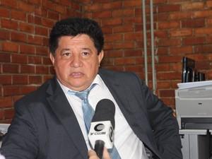 Juiz Antônio Lopes fala sobre as medidas medidas socioeducativas  (Foto: Gilcilene Araújo/G1)