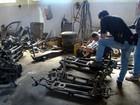 Operação vistoria 10 comércios de autopeças em Piracicaba e lacra 9