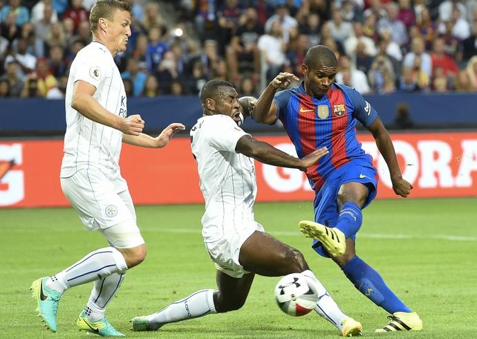 Marlon Barcelona Leicester (Foto: AFP)