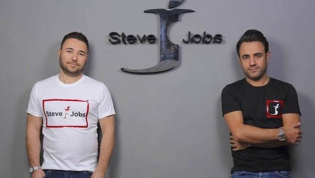 Empreendedores criaram a Steve Jobs (Foto: Reprodução)
