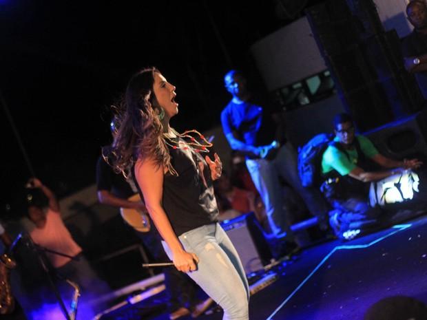 Ivete Sangalo em show em Salvador, na Bahia (Foto: Sércio Freitas/ Ag. Sércio Freitas/ Divulgação)