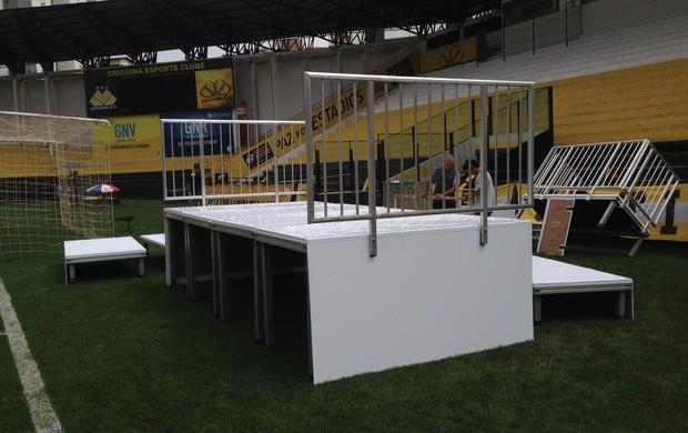 palanque, criciúma, final, sub-20, copa do brasil (Foto: João Lucas Cardoso)