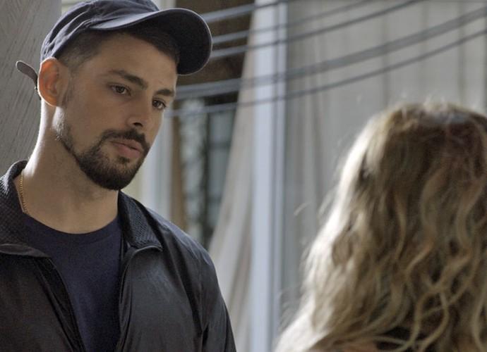 Juliano faz ameaças a Zé Maria (Foto: TV Globo)