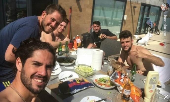 BLOG: Isco posta foto com produto do Barça, mas apaga e aumenta rumores sobre saída