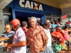 Caixa tem movimento tranquilo neste sábado (11) em Caruaru, no Agreste