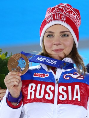 skeleton Elena Nikitina sochi 2014 (Foto: Getty Images)