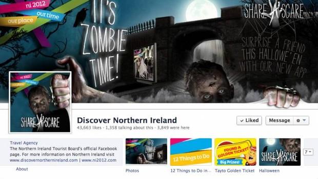 Facebook: Discover Northern Ireland  (Foto: reprodução / internet)