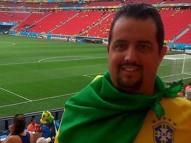 Hugo Leandro Drancha Salvatori morreu atropelado no último sábado na cidade de New Kingston, na Jamaica (Foto: Reprodução/ Facebook/ Hugo Leandro Drancha Salvatori)