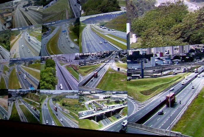 Conheça o trabalho dos monitores de estradas do interior paulista (Foto: Reprodução / TV TEM)