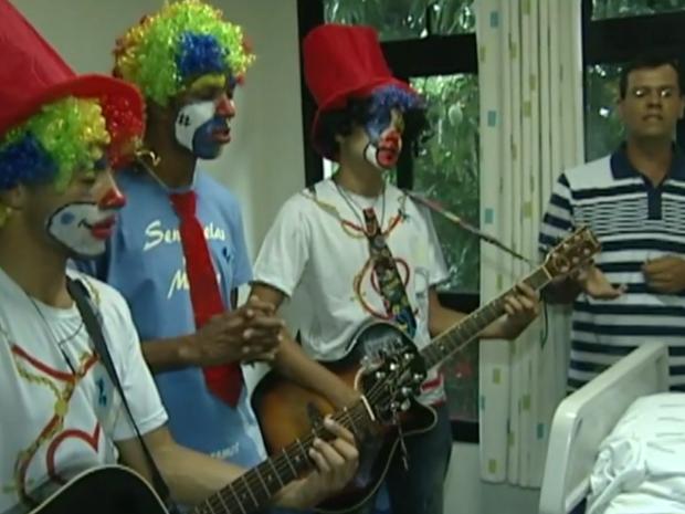 Grupo se reúne aos domingos, no Espírito Santo (Foto: Reprodução/TV Gazeta)