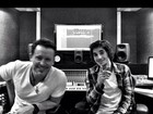 Fiuk posta foto em estúdio de gravação: 'Muito feliz'