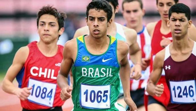Rodrigo Valério Silva atletismo Praia Grande (Foto: Divulgação / Prefeitura de Praia Grande)