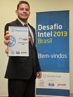 Thierry Marcondes, CEO da startup Gloriosos, finalista do Desafio Intel 2013 (Foto: Divulgação)